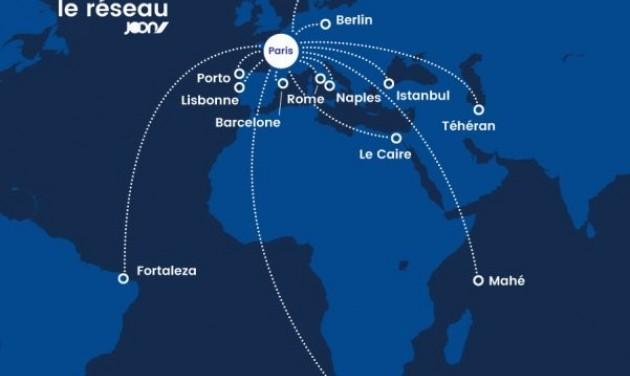 Joon-járatok Mahéra, Fortalézára és Fokvárosba