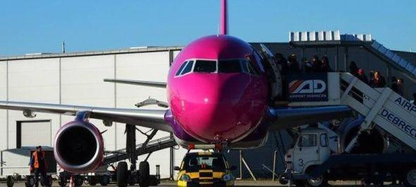 Újabb járatot függeszt fel Debrecenből a Wizz Air