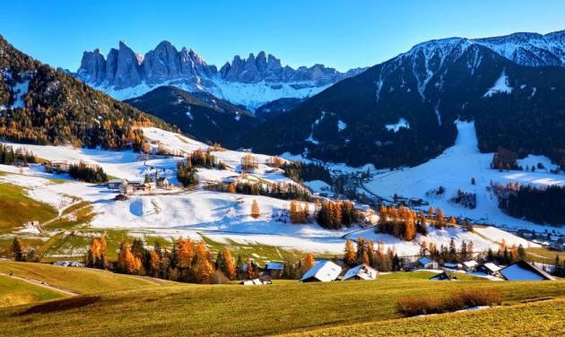 Dél-Tirolban januártól nyithatnak a sípályák