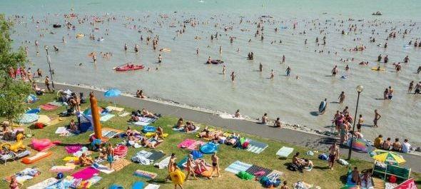Kiváló a vízminőség a legtöbb szabadvízi strandon