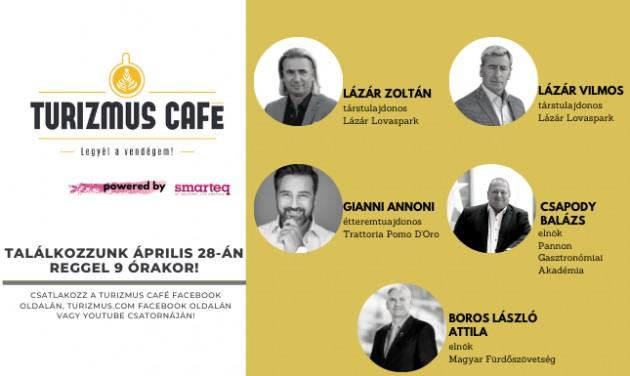Itt nézheti a Turizmus Café szerdai adását!