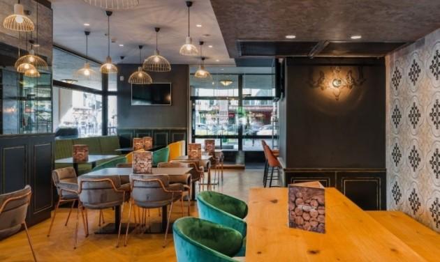 Dupla teraszos a második budapesti Winestone étterem