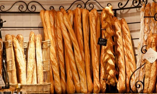 Franciaország a világörökség részéve tenné a baguette-et