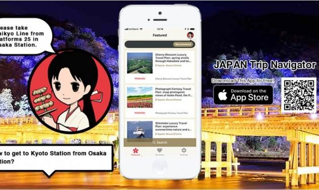 Mobilapplikáció a Japánba utazóknak