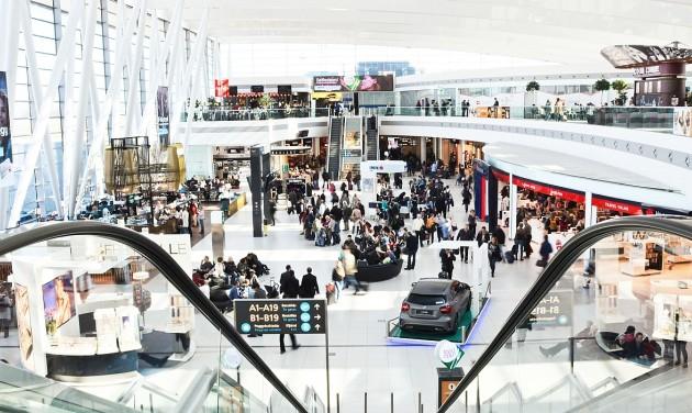 Budapest Airport: fizetés akárcsak Kínában