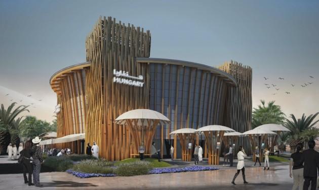 Óriásgép viszi a dubaji világkiállításra a magyar pavilont
