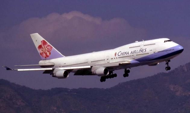 Újdonságok a tajvani China Airlinesnál