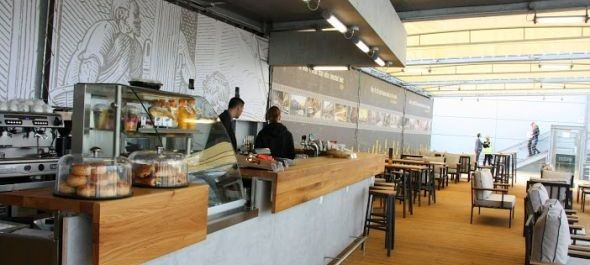 Terasz Café nyílt a repülőtéren