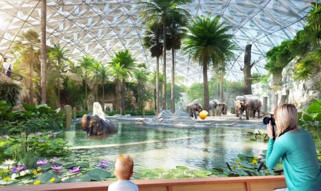 Két év múlva nyílhat meg a Pannon Park és a Biodóm az állatkertben