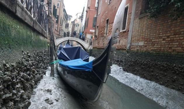 A kiszáradás veszélyezteti Velencét