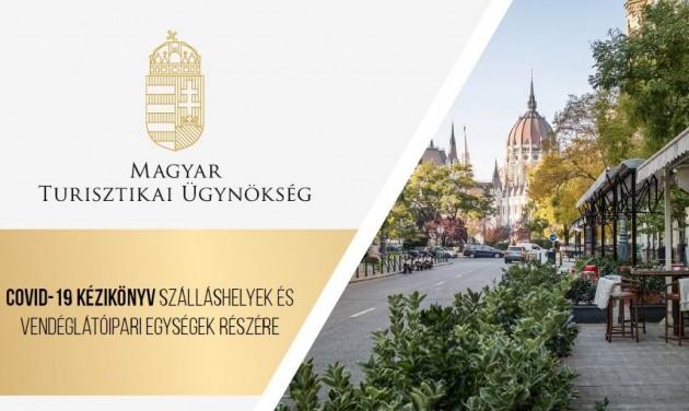 Letölthető a Magyar Turisztikai Ügynökség Covid-kézikönyve