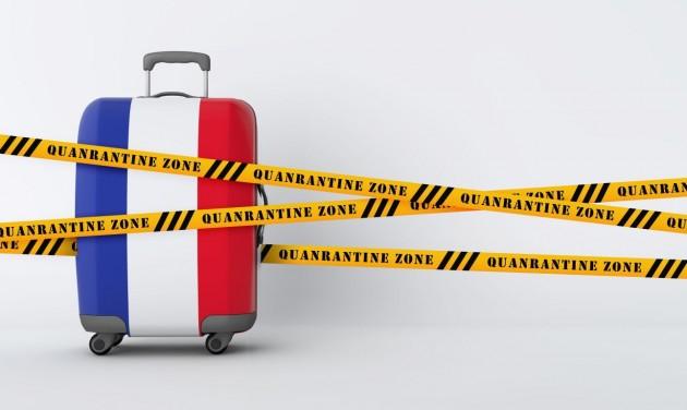 Szombattól Franciaországban délután 6 órakor kezdődik a kijárási tilalom