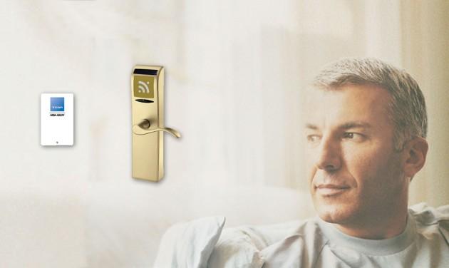 RFID szállodai zár 33.000 Ft-ért