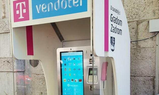 Utcai okostelefonok Zadarban