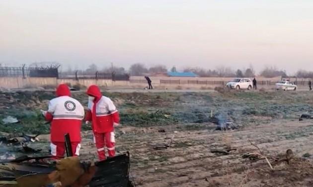 Lezuhant egy ukrán utasszállító Iránban, nincs túlélő