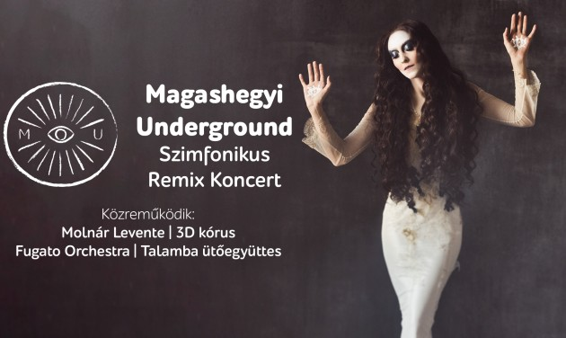 Nyárbúcsúztató Magashegyi Underground koncert a Margitszigeti Szabadtéri Színpadon