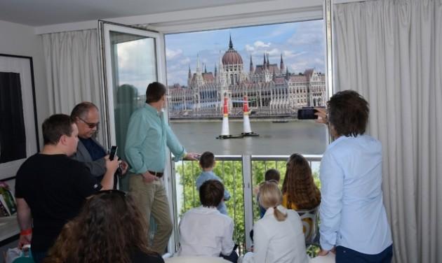 Az art'otel Budapest is szárnyalt a Red Bull hétvégéjén