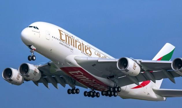 Az Emirates novemberben már 27 útvonalon jár A380-asokkal
