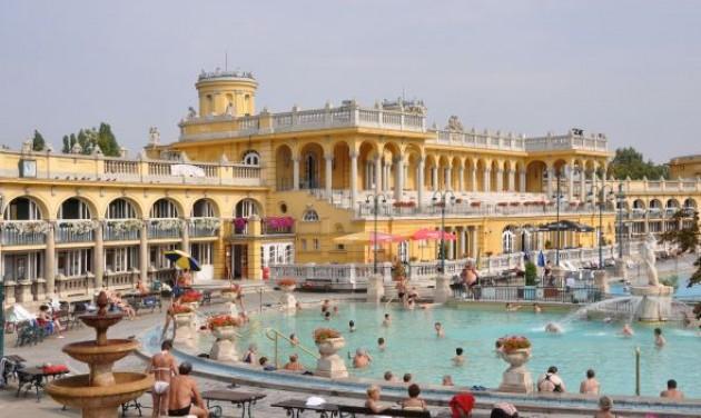 Nemzetközi díjat nyert a Széchenyi fürdő