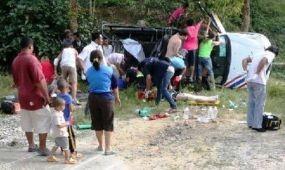 Magyar turisták is megsérültek egy thaiföldi közúti balesetben