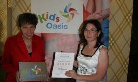 Kidsoasis minősítés az Oxigén Hotel Zen Spa szállodának