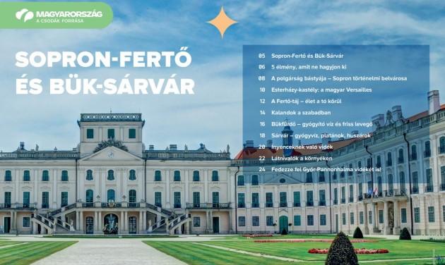 Letölthető a Sopron-Fertő és Bük-Sárvár desztinációs kiadvány