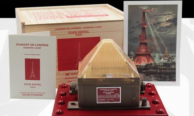 Villanyégőt Valentin-napra az Eiffel-toronyból