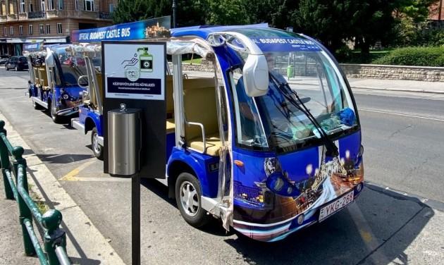 Újra jár a Castle Bus a Budai Várnegyedben