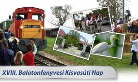 Balatonfenyvesi Kisvasúti Nap szeptember 5-én