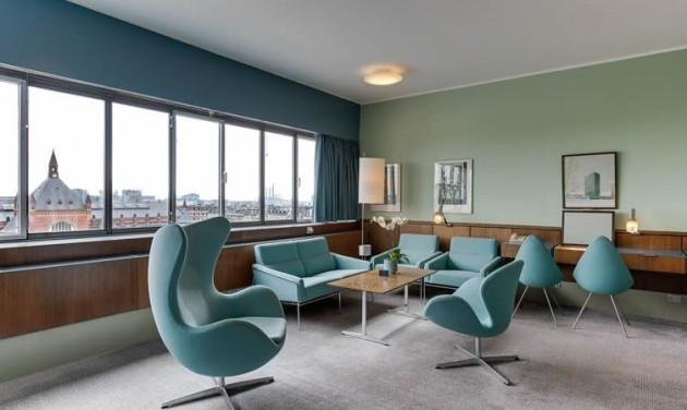 Időtálló szállodai dizájn 1960-ból