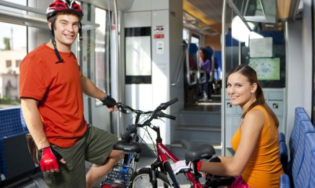 Több mint 210 ezer kerékpárjegy fogyott a MÁV-nál