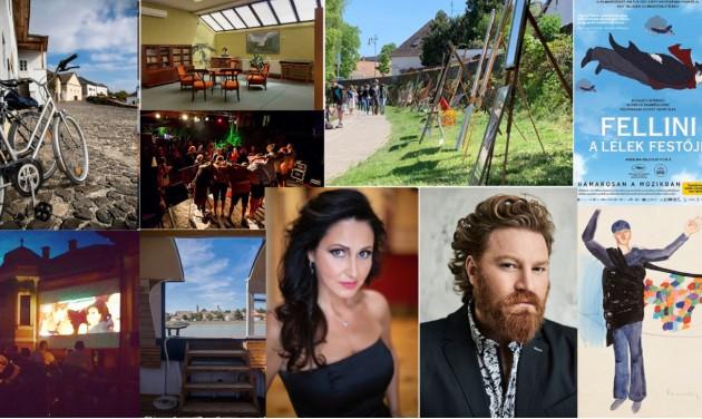 Kulturális programok özönével nyit Szentendre