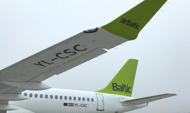 Code-share és új gép az airBaltic-nál