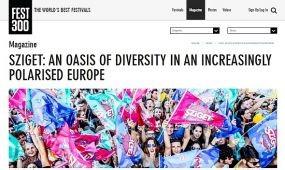 Brit újságírók a Sziget Fesztiválon