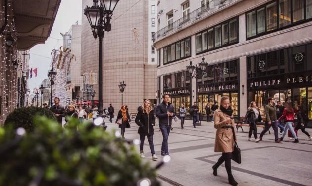 Összefogással vészelik át a válságot a fővárosi bevásárlóutcák