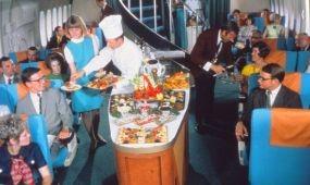 Milyen volt régen a fedélzeti catering a SAS járatain?