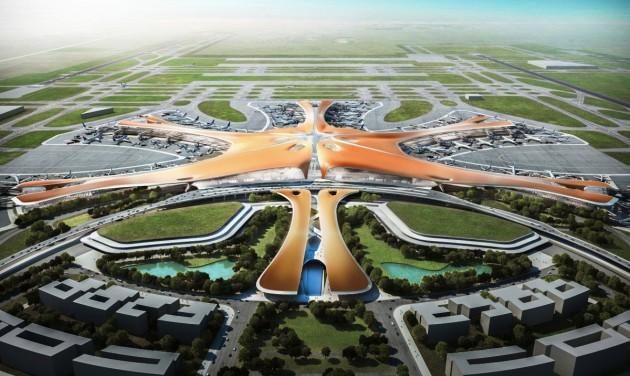 A hét videója: ilyen lesz a világ legnagyobb repülőtere