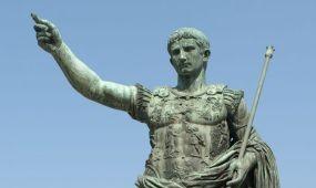 Római császár okostelefonon