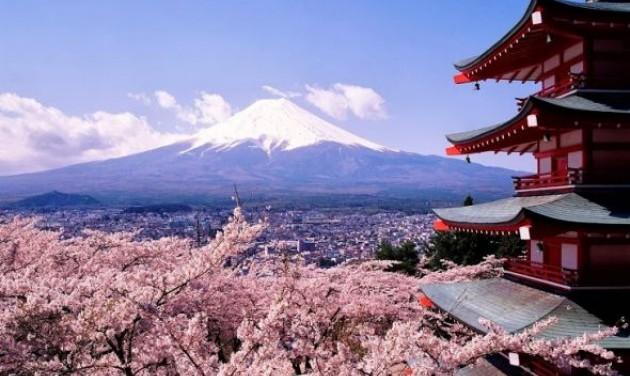 Terítéken Japán és a cseresznyevirágzás