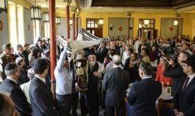 Átadták a felújított ortodox zsinagógát Debrecenben