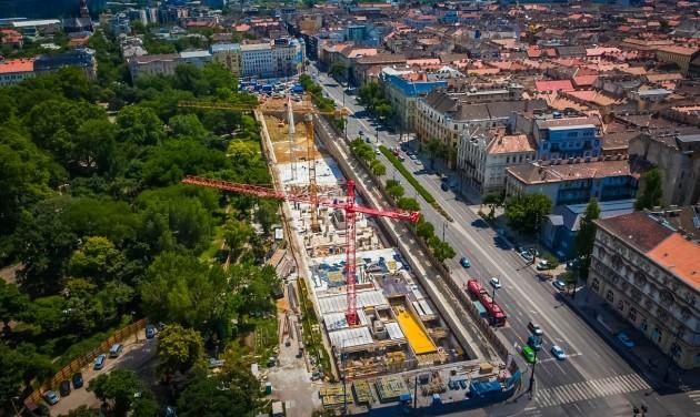 Autómentes Városliget: jövő nyárra elkészül az első mélygarázs