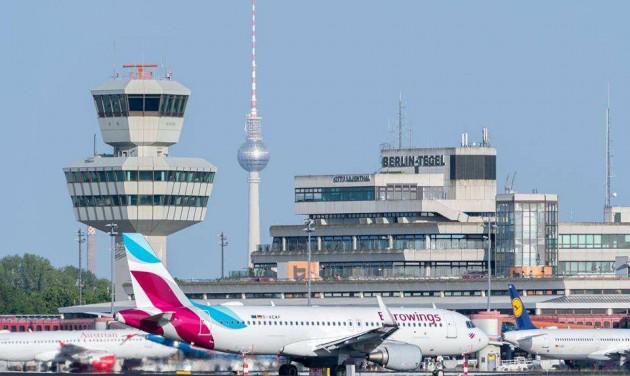 Véget ért a berlini reptéri sztrájk