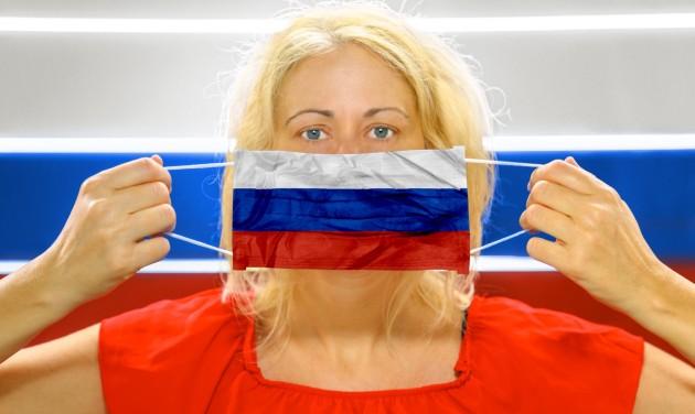 Oroszországban is kötelező a maszkviselés a nyilvános helyeken