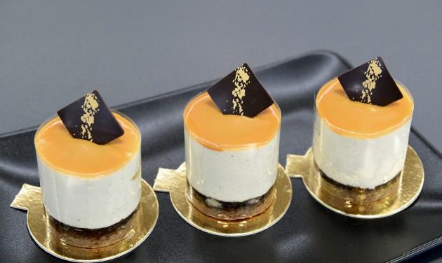 Körtés karamell mousse lett idén Budapest desszertje