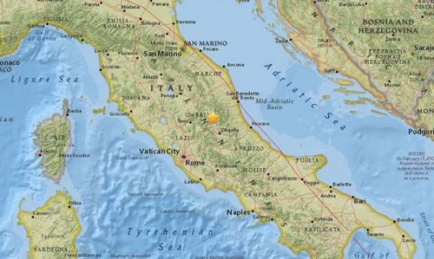 Földrengés Olaszországban