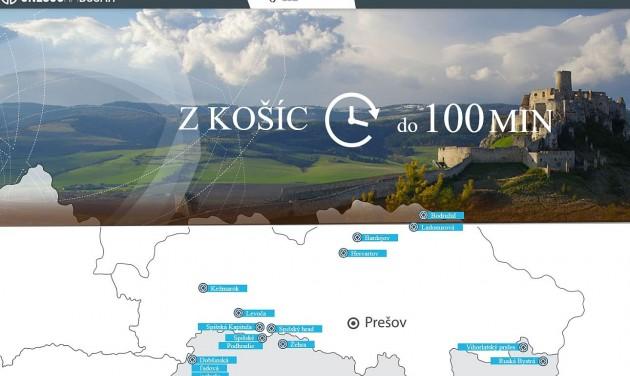 Virtuális kirándulások a Kassa Régióban