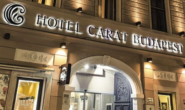 Éjszakás recepciós, Carat Boutique Hotel, Budapest