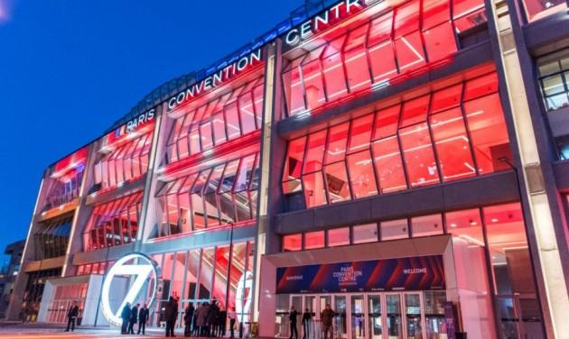 Megnyílt az új párizsi kongresszusi központ