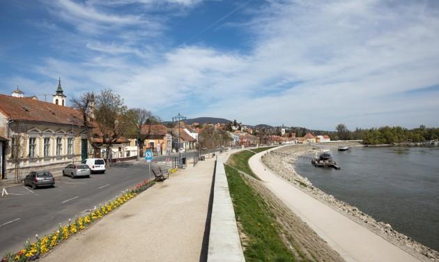 Csak helyiek bringázhatnak a szentendrei Duna-parton