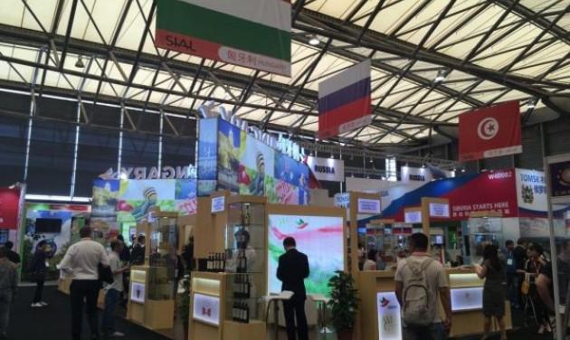 Magyar termékek a kínai szakkiállításon